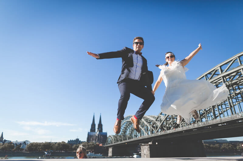 Post Wedding Shooting mit N&M im Kölner Süden