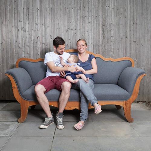 Baby-Fotoshooting in Krefeld-Forstwald mit Linea