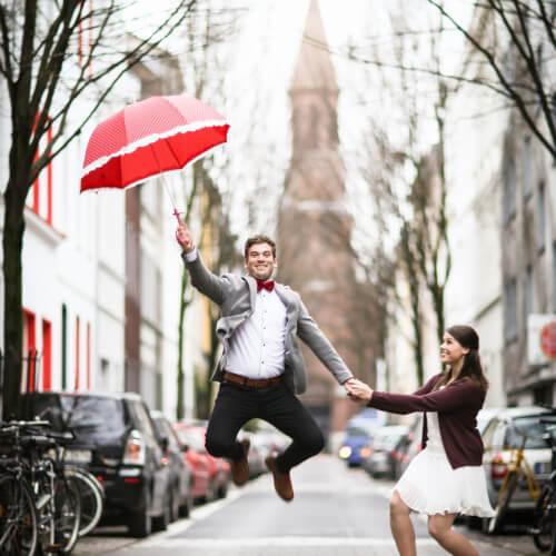 Standesamtliche Hochzeit Nadine & Matze im Herzen der Kölner Altstadt Part 1